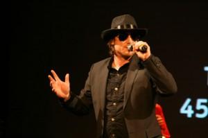 Tassilo Dicke als Johnny Cash.