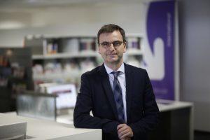 Martin Klebe, Leiter der Agentur für Arbeit Solingen-Wuppertal