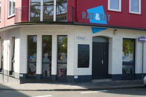 Das Café Rat&Tat ist ein beliebter Treffpunkt in Barmen
