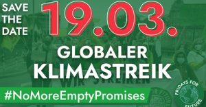 Klimastreik Banner FFF